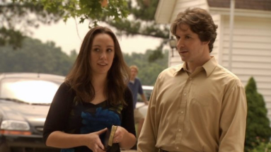 Production Still of Layla and Michael