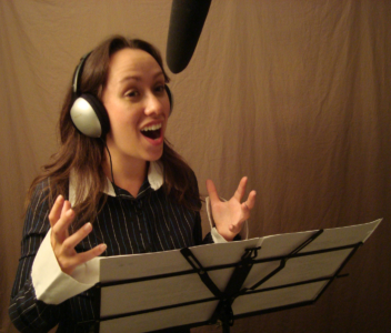 Animation Voice-over Recording Session